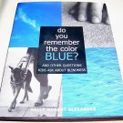 Do You Remember the Color Blue, 2000, Blindness