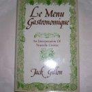 Le menu gastronomique, 1981 hcdj, Nouvelle Cuisine
