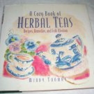 A Cozy Book of Herbal Teas,(1994), Tea, Herbal, HCDJ