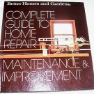 Complete Guide to Home Repair,Maintenance & Improvement