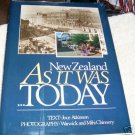 NEW ZEALAND, AS IT WAS TODAY, 1984 hcdj, TRAVEL