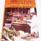 ELENA'S FAVORITE FOOD, CALIFORNIA STYLE RECIPES, 1972