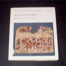 Ancient Scrolls, Michael Avi-Yonah, 1973 hcdj