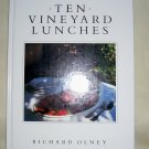 Ten Vineyard Lunches, (1988 hc), Luncheons, French Wine