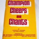 CHAMPION CHEERS AND CHANTS, 1980, CHEERLEADING,