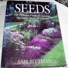 Seeds,(1989 hcdj), Vegetables, Herbs, and Flowers,