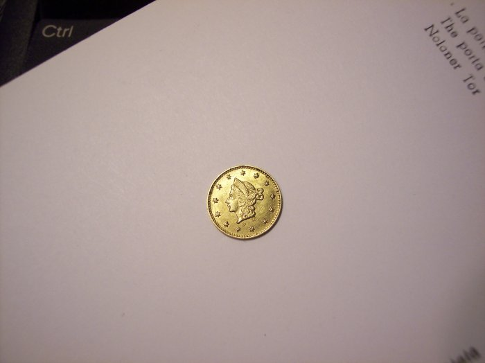 BG-407 Half Dol California Pioneer Gold Coin 50c Liberty