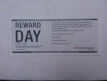 8 Avis Free Car Rental Day Certificate Voucher Coupon