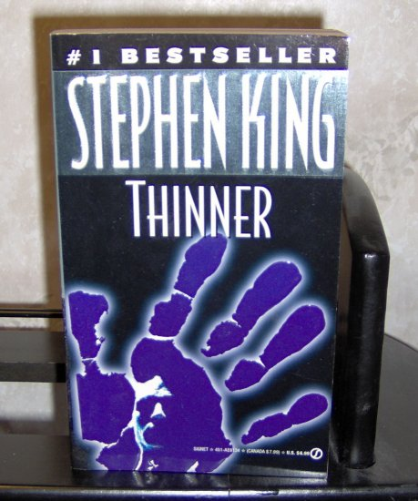 Thinner - Stephen King as Richard Bachman - Paperback Novel