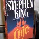 Cujo by Stephen King Paperback novel