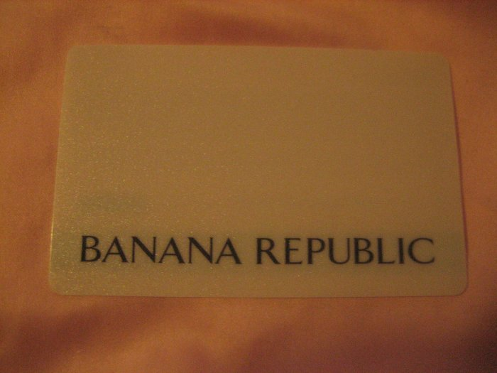 Buy visa gift cards - Banana Republic Giftcard / Gift Card $225 Value