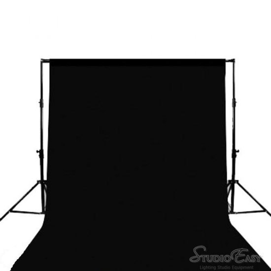 10 X 20 ft Muslin Photo Backdrop Background BLACK