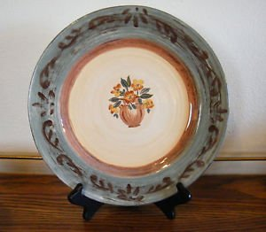 Certified International Dinner Plate Tuscan Landscape  Pamela Gladding