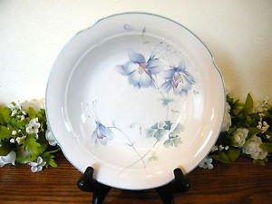 Mikasa Lyric Blue Garden Salad Plate Floral
