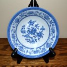 Churchill Indian Tree Cereal Bowl Blue White Flowers England