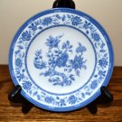 Churchill Indian Tree Bread Plate Blue White Flowers England