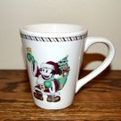 Disney Mickey Santa Mug Christmas Candy Cane