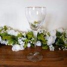 Lenox Encore Crystal Wine Glasses Gold Rim
