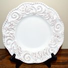 Certified International Florentine Antique White Salad Plate New