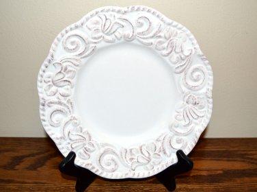 Certified International Florentine Antique White Salad Plate New