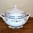 Nikko Fascination Soup Tureen Blue Floral