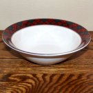 Arita Cereal Bowl (s) Holiday Tartan Plaid