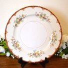 Ransom Japan Dinner Plate (s) Rust Floral