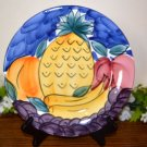 Pier 1 Dinner Plate Tropical Fruits Italy