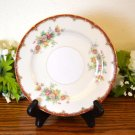 Ransom Japan Bread Plate  Rust Floral
