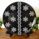 Noritake Colorwave Holiday Accent Plates Black