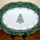 222 Fifth Winter Ball Platter Christmas Tree Holiday