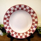 Baum Bros Soup Bowls Country Checker Style Eyes
