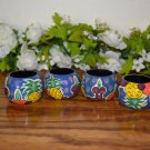 Pier 1 Napkin Rings  Tropical Fruits Italy