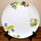 Mikasa Garden Berry Salad Plate Bone China Green White