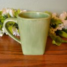 Pottery Barn Mug Sausalito Green