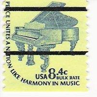 Scott # 1615Cd PreCanceled - Single - Piano - Mint Never Hinged