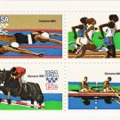US Scott 1794a (1791 1792 1793 1794) - Block of 4 - 1980 Summer Olympics 15 cent - Mint Never Hinged
