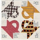 US Scott 1748a (1745 1746 1747 17480) - Block of 4 - Quilts - 13 cent - Mint Never Hinged