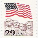 US Scott 2523c - Flag over Mount Rushmore - Mint Never Hinged