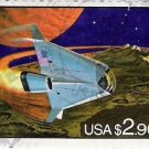 US Scott 2543 - Futuristic Space Shuttle -Used VF