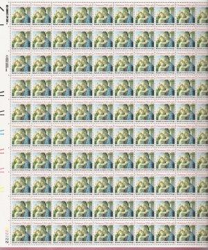US Scott 1939 - Sheet of 100 - Christmas 1981 - religious - Mint Never Hinged