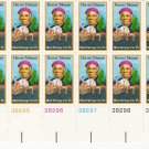 US Scott 1744 - Plate Block of 12 - Harriet Tubman - 13 cent - MINT Never Hinged