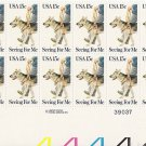 US Scott 1787 - Plate Block of 20 - Seeing Eye Dogs 15 cent - Mint Never Hinged
