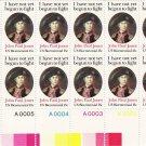 US Scott 1789 -Plate Block of 12 A00001-A00005 Bottom-John Paul Jones 15 cent - Mint Never Hinged