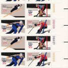 US Scott 1798b - Plate Block of 12 (right) - 1980 Winter Olympics 15 cent - Mint Never Hinged