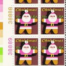 US Scott 1800 - Plate Block of 12 (left) - Christmas 1979 Santa Claus 15 cent