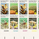 US Scott 1830a (1827 1828 1829 1830) - Plate Block of 12 - Coral Reefs 15 cent - Mint Never Hinged