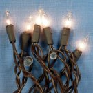 20 Bulb String Lights - Brown cord