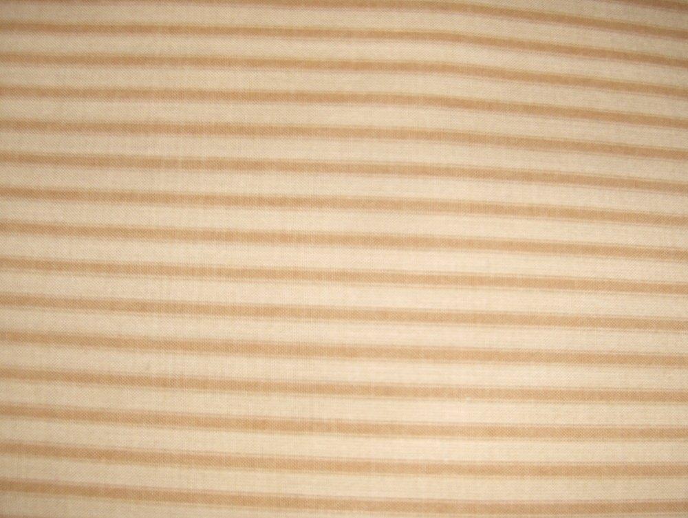 1 Yard of Homespun Fabric. Ticking  (Mustard)