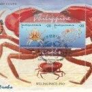 Philippines Crabs S/S FDC